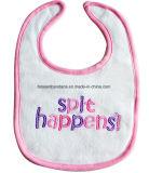 China-Fabrik Soem-Erzeugnis fertigen Stickerei-Baumwollterry-preiswerten Baby-Schellfisch kundenspezifisch an