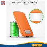 2017 carregador entrado do indicador da bateria dos produtos electrónicos de consumo 2 da tecnologia nova banco da potência do cartão de 10000 mAh com banco da potência do USB da mitigação o micro