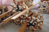 Scaletta di corda usata marinaio di imbarco con il punto del salice