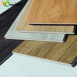 Faciles matériels de PVC installent le plancher en plastique composé en bois du vinyle WPC