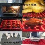 新しい焦げ付き防止のカスタムシリコーンゴムのベーキングオーブンのマット