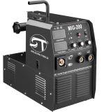 Inverter IGBT Gasless/Gas abgeschirmtes Schweißgerät MIG Mag-Schweißgerät MIG-200