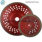 Diamant-Segmente für Sägeblatt, Ausschnitt-Hilfsmittel für Basalt-Rand-Ausschnitt, t-geformter Ausschnitt-Platte zu schärfen