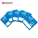 Balise active estampée polychrome d'IDENTIFICATION RF d'étiquette d'à haute fréquence NFC