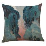 Cubierta retra creativa de la almohadilla de la mitología nórdica