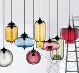 Moderne hängende Glaslampe für Stab-Dekoration-Anhänger-Licht