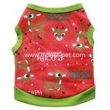 귀여운 크리스마스 개 옷을 입는 휴일 애완 동물 제품
