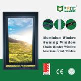 Finestra della tenda/finestra appesa superiore/finestra di alluminio
