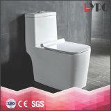 Lp1011 fissi si raddoppiano toletta di ceramica di un pezzo a livello della ciotola della stanza da bagno di Siphonic