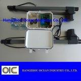 Actuador linear del operador de la puerta de oscilación