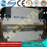 Гибочная машина плиты тормоза гидровлического давления Wc67y