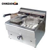 Friteuse commerciale de gaz de pomme de terre à vendre (GZL-34B)