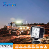 lámpara cuadrada del trabajo del automóvil LED de 4.5inch 40W para el alimentador