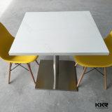 De stevige Lijst van het Diner van de Steen van de Oppervlakte Vierkante voor de Zaal van het Restaurant