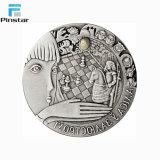 製造の高品質の金属はカスタム銀貨を鋳造する