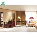 Hotel-Art-Schlafzimmer-Möbel-beige lederner Stuhl mit Osmane-Sets