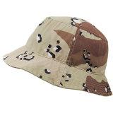 A aventura de Verão 100% algodão dobrável chapéu de caçamba com guarnição