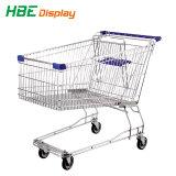 Supermarkt-Gemischtwarenladen-Einzelverkaufs-Einkaufen-Karren