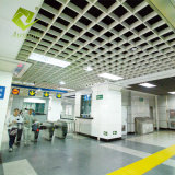Matériau de construction de la grille d'aluminium les carreaux de plafond suspendu au plafond fausse maille de bord