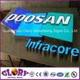 표시 Frontlit와 후면발광 LED 편지 LED 표시 광고