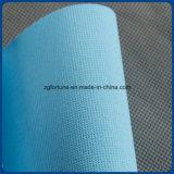 Steen van het Canvas van de Polyester van de Basis van het Water van de Leverancier van China de Waterdichte Blauwe Achter voor Digitale Druk