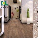 Commerciaux et de l'intérieur du grain du bois d'Interverrouillage de plancher en vinyle PVC Changlong Clw-43