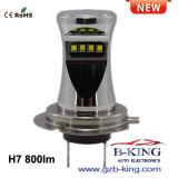 최고 밝은 H1 800lm Zes LED 안개등 전구 (H4 H7 H11 HB3 HB4 880 881 etc., 선택)