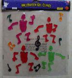 Halloween schittert de Stickers van de Decoratie/van het Gel van de Gelei van het Venster