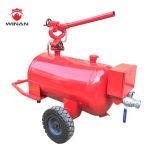 Espuma móvel do aço inoxidável que proporciona o tanque/carro móvel da espuma