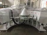 Machine de pesage d'additifs de poudre pour la ligne d'extrudeuse de bordure foncée de PVC