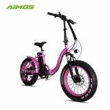 女性のためのタイヤの雪のEbike最も売れ行きの良い脂肪質の山の電気バイク