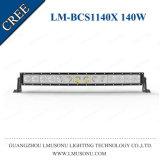 Viga de la inundación del punto de la venta directa de la fábrica de Lmusonu de la barra ligera del camino LED para la alta fila de la barra ligera de la pulgada 140W LED del lumen 30 de ATV sola