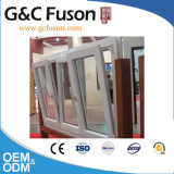 Het Dubbele Gehangen Venster van het aluminium met Berijpt Glas