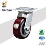 Heavy Duty fixe ROUE CHARIOT Roulette polyuréthane