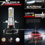 明るく細いDIY 6000lm H4 LEDの自動車のヘッドライト