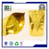 L'abitudine ha stampato l'imballaggio di plastica del ridurre in pani del sacchetto della serratura della chiusura lampo del di alluminio