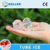 Máquina de hielo del tubo de 1 tonelada/día con el control TV10 del PLC