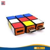 Lecteur flash USB du cube de Rubik magique de logo fait sur commande créateur tournant Pendrive