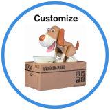 Kundenspezifischer Hund, der Einsparung-Geld-Piggy Münzkassette stiehlt
