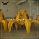 Traiter en acier de rebut d'encavateur hydraulique de peau d'orange de moteur