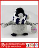 Jouet animal de gosses de pingouin mou de peluche