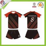 Dreamfox crea el fútbol Jersey de la ropa de deportes de los hombres para requisitos particulares uniformes sublimados del fútbol