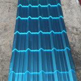 Rouleau de revêtement bleu Pet résistant à la corrosion tôle de toit