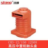 Vermelho da resina Epoxy do bico de Vcb da isolação da caixa do contato de CH3-12series