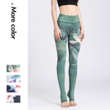 Impreso de las mujeres Yoga fitness gimnasio y el pantalón Legging patrón Personalizar
