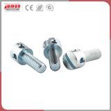 Kundenspezifische sechseckige Rad-Kohlenstoffstahl-Schraube für Maschinerie