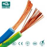 Cavo del PVC dell'isolamento di conduttore solido del cavo piano BVV