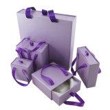 引出しかふたおよび基礎ペーパーまたはボール紙の流行の熱い販売の宝石類の腕時計のギフトの組合せの包装ボックス