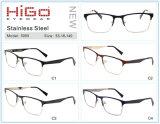 De eenvoudige Optische Glazen van het Metaal van de volledig-Rand van de Stijl voor Mannen en Vrouwen