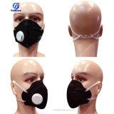 Черный цвет N95 класс FFP1 класс FFP2 Anti-Haze Anti-Pollution рот складная Non-Woven пылезащитную маску подсети в респираторе патрубке пеносмесительной головки с клапаном